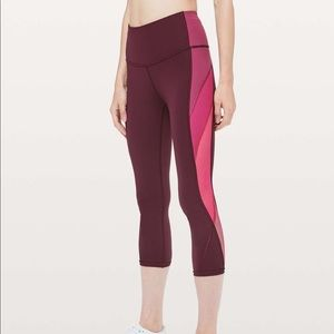 Lululemon Colour Me Ombre Crop *21""
